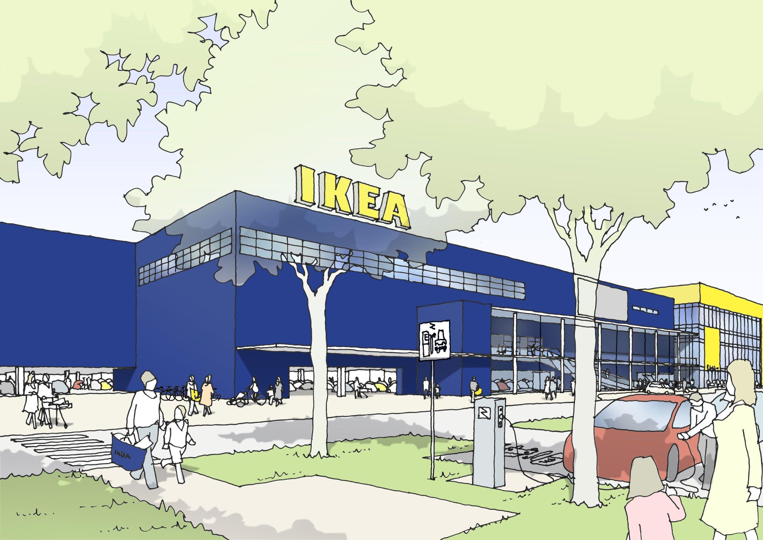 Ikea Nürnberg Regensburger Straße